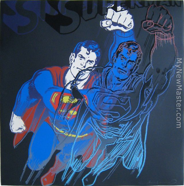 Superman with Diamond-Dust