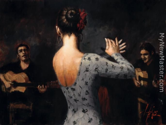 Tablao Flamenco Dancer