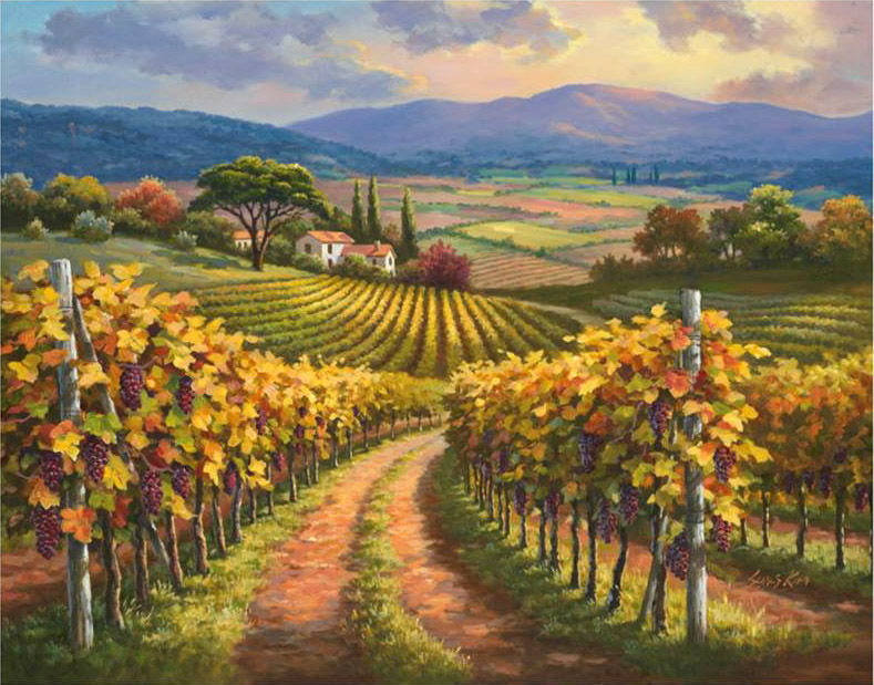 1000 Images About Vineyards Amp Wine Country Art On